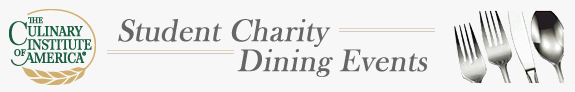 CIA Student Charity Dining Events