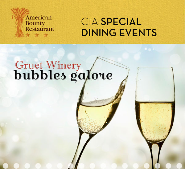 Gruet Winery, Bubbles Galore event at American Bounty Restaurant