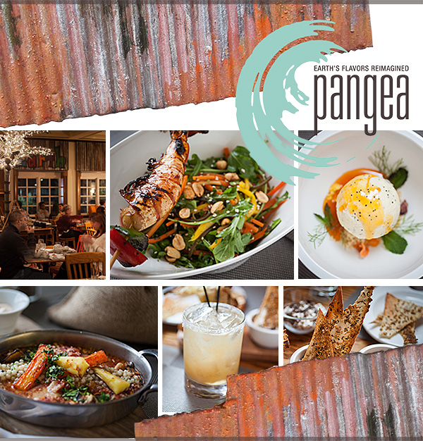 Now Open. For more information and to get your tickets, visit pangeany.com or call 845-451-1015. Pangea Restaurant at The Culinary Institute of America 1946 Campus Drive (Rte 9) Hyde Park, NY 12538