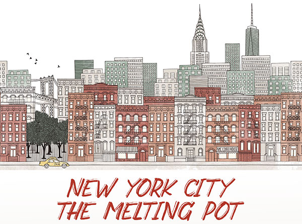 Dining event at American Bounty Restaurant: NYC Melting Pot